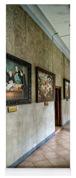 Hallway Of Paintings Yoga Mat