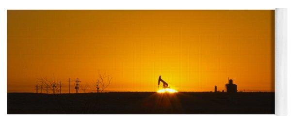 Hammering The Sun Yoga Mat