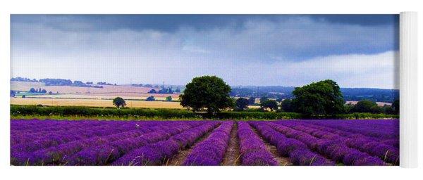 Hampshire Lavender Field Yoga Mat