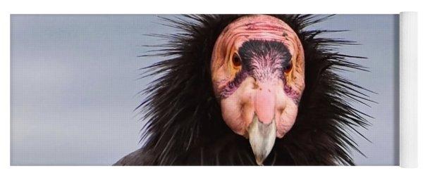 Handsome California Condor Yoga Mat