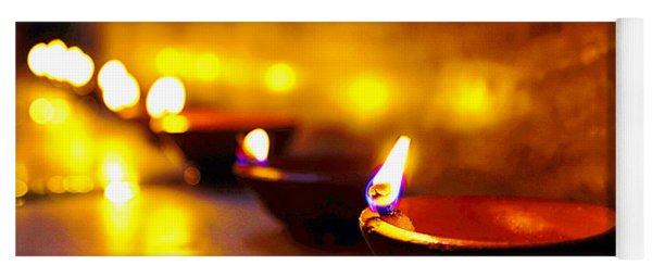 Happy Diwali Yoga Mat