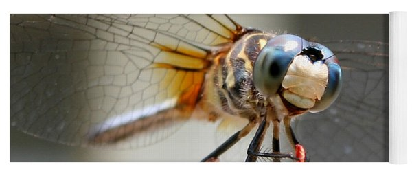 Happy Dragonfly Yoga Mat