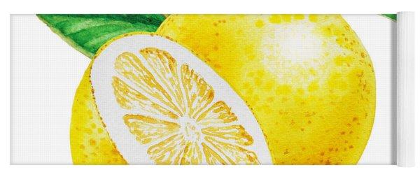 Happy Grapefruit- Irina Sztukowski Yoga Mat