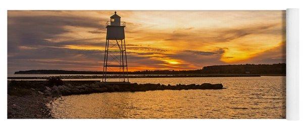 Harbor Sunrise Yoga Mat