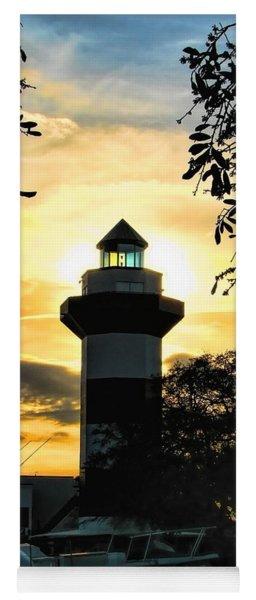 Harbour Town Lighthouse Beacon Yoga Mat