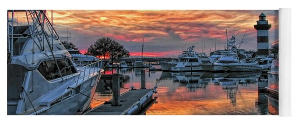 Harbour Town Yacht Basin Yoga Mat
