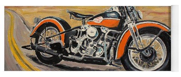 Harley Davidson 1946 Yoga Mat