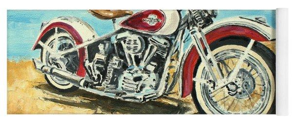 Harley Davidson 1960 Yoga Mat