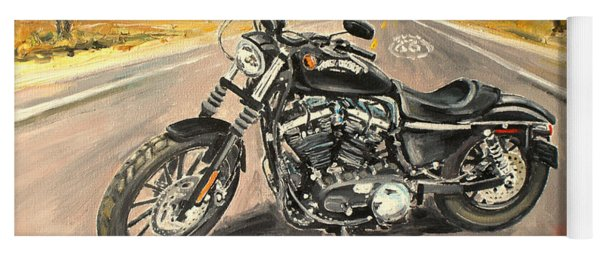 Harley Davidson 883 Sportster Yoga Mat