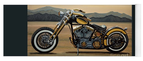 Harley Davidson Yoga Mat