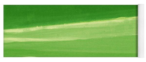 Harmony In Green Yoga Mat