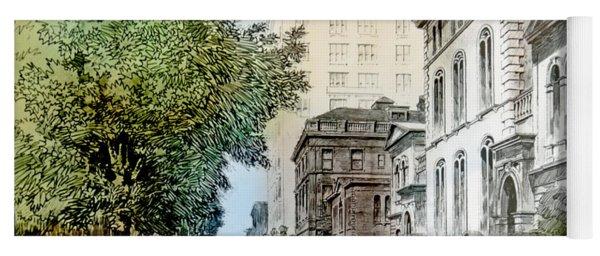 Harrison Residence East Rittenhouse Square Philadelphia C 1890 Yoga Mat
