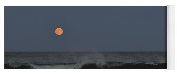 Harvest Moon Seaside Park Nj Yoga Mat