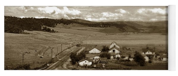 Hatton Ranch Carmel Valley From Highway One California  1940 Yoga Mat