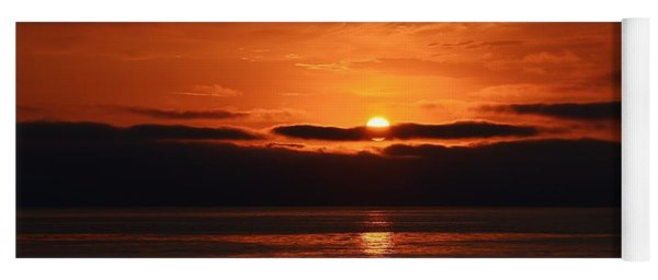 Haunting Sunset Yoga Mat
