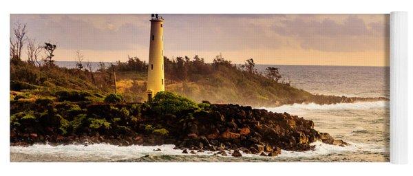 Hawaiian Lighthouse Yoga Mat