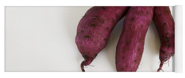 Hawaiian Purple Sweet Potatos Yoga Mat