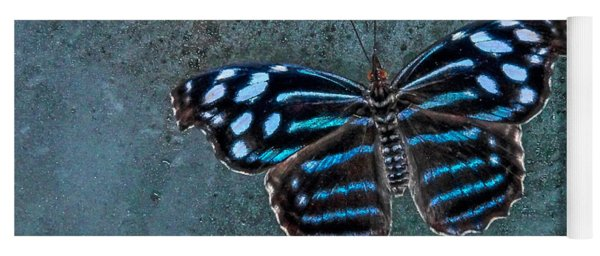 Hdr Butterfly Yoga Mat