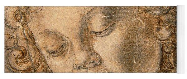 Head Of An Angel Yoga Mat