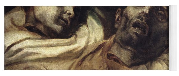 Heads Of Torture Victims, Study For The Raft Of The Medusa  Yoga Mat
