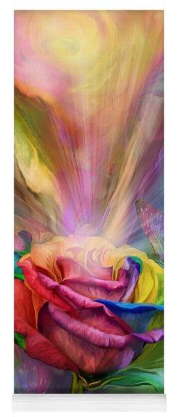 Healing Rose Yoga Mat