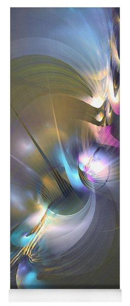 Heart Of Dragon - Abstract Art Yoga Mat