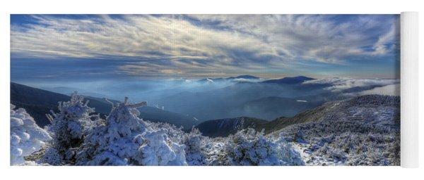 Heavenly Winter Glow Yoga Mat