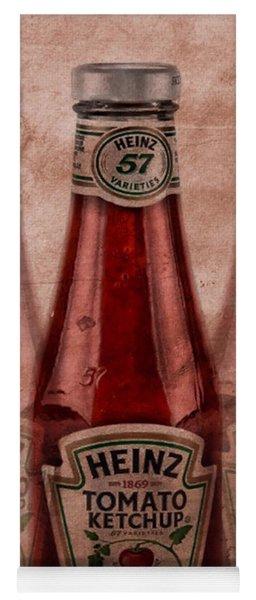 Heinz Tomato Ketchup Yoga Mat