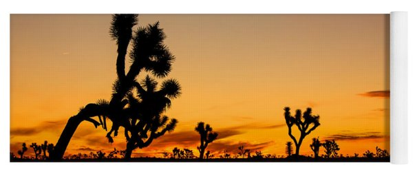 Hello Joshua Tree Yoga Mat