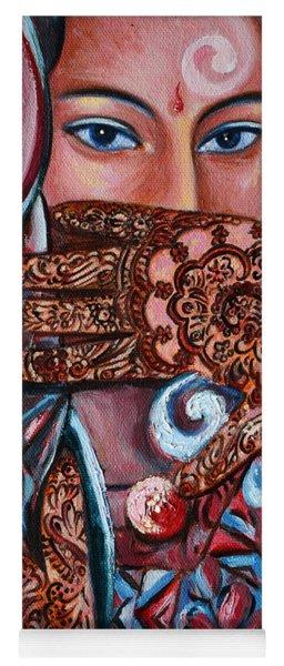 Henna Yoga Mat