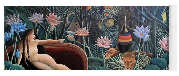 Henri Rousseau The Dream 1910 Yoga Mat