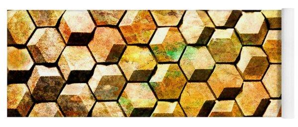 Hexacubes Yoga Mat