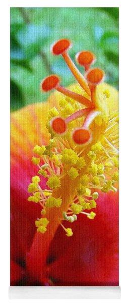 Hibiscus Antennae Yoga Mat