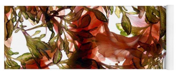 Hibiscus Coleus Array Yoga Mat