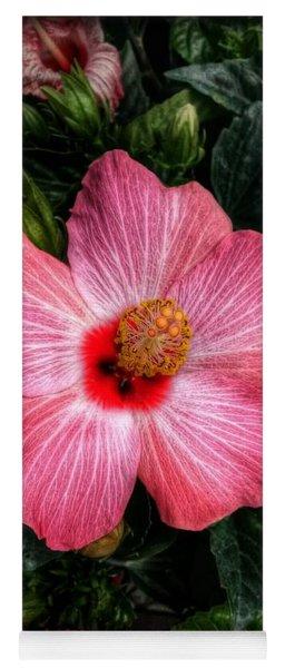 Hibiscus Sunset Yoga Mat