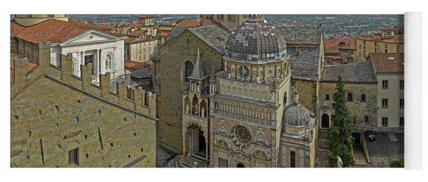 High Angle View Of The Basilica Di Yoga Mat
