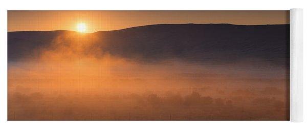 High Desert Morning Mist Yoga Mat