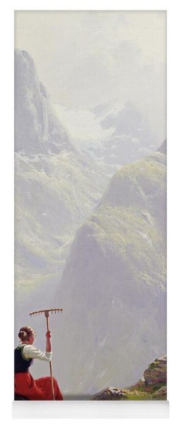 High In The Mountains Yoga Mat