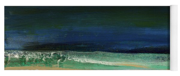 High Tide- Abstract Beachscape Painting Yoga Mat
