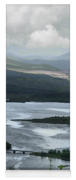 Highland Loch At Lochaber Yoga Mat
