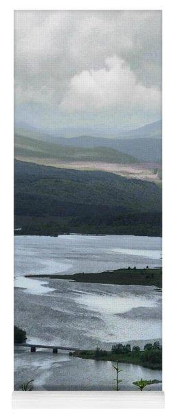 Highland Loch At Lochaber Yoga Mat