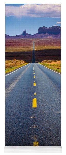Highway 163 Yoga Mat