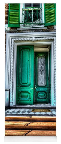 Historic Charleston Sc Door Yoga Mat