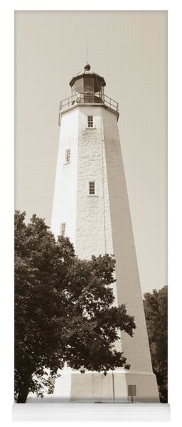 Historic Sandy Hook Lighthouse Yoga Mat