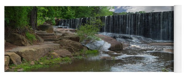 Historic Yates Mill Dam - Raleigh N C Yoga Mat