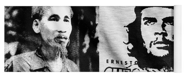 Ho Chi Minh And Che Guevara Yoga Mat