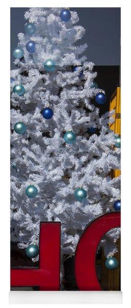 Ho Christmas Tree Yoga Mat