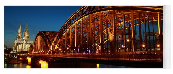 Hohenzollern Bridge Yoga Mat