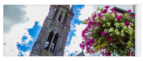 Holy Cross Church Steeple Charleville Ireland Yoga Mat