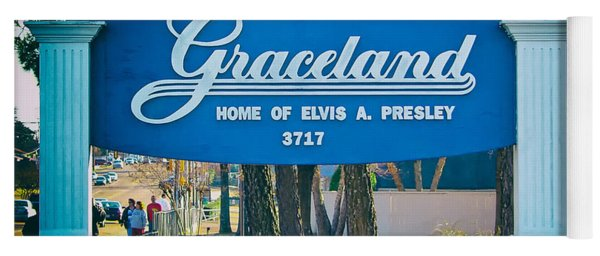 Home Of Elvis Yoga Mat
